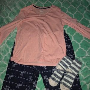 Women's Sonoma Pj Set Size Large